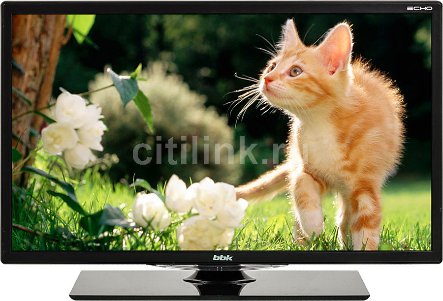 "LED телевизор BBK 19LEM-1006/T2C  ""R"", 19"", HD READY (720p),  черный"