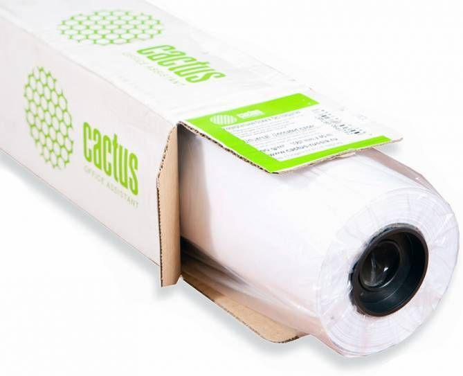 Фотобумага Cactus CS-PM140-61030 610мм-30м/140г/м2/белый матовое для струйной печати втулка:50.8мм (