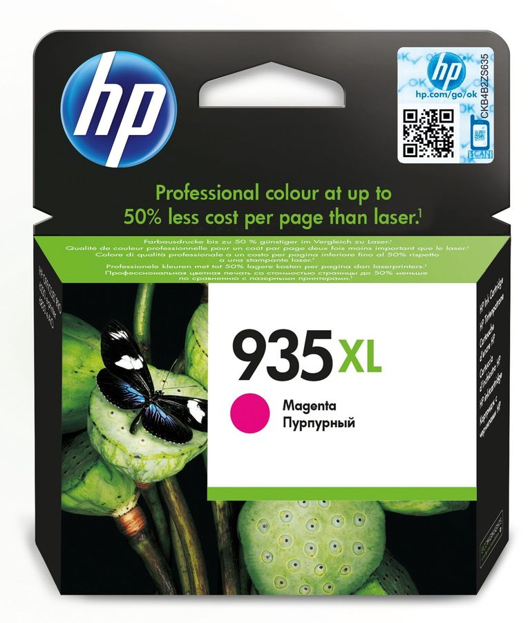 Картридж HP 935XL пурпурный [c2p25ae]