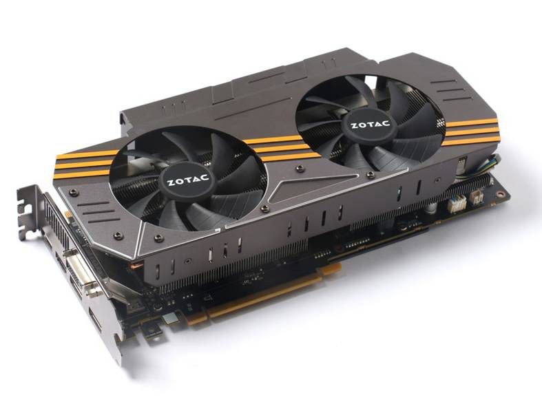 Видеокарта ZOTAC GeForce GTX 970,  4Гб, GDDR5, Ret [zt-90102-10p]