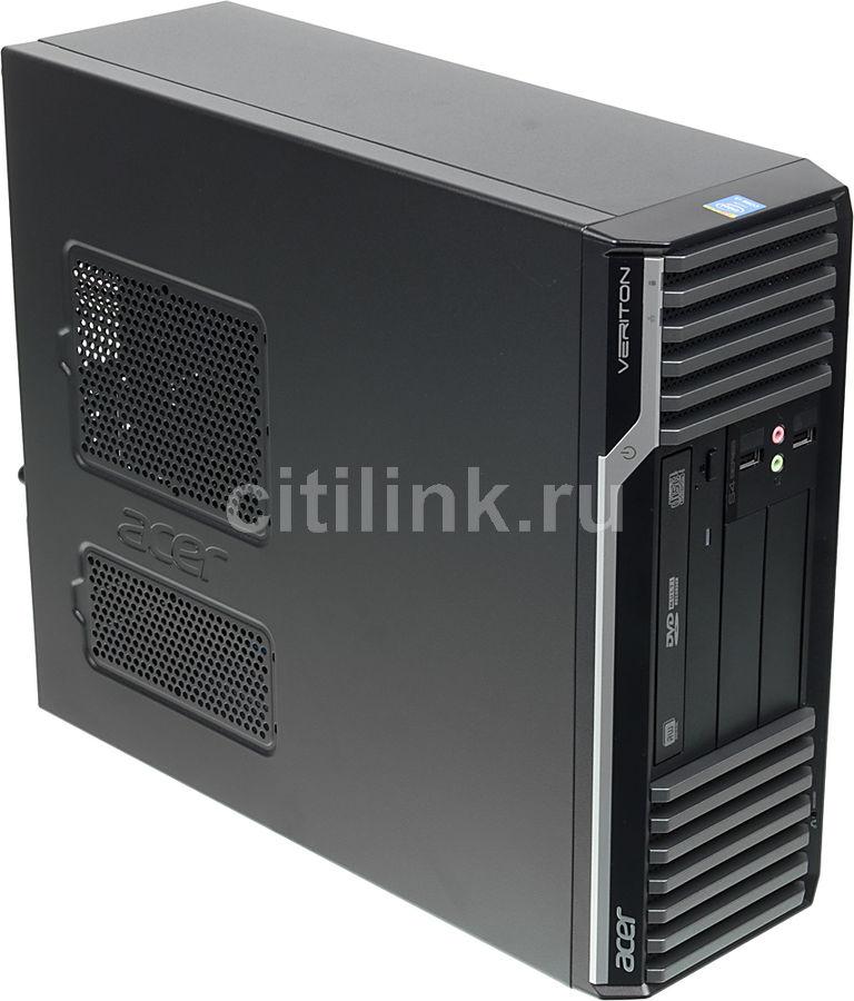 Компьютер  ACER Veriton S4630G,  Intel  Core i3  4150,  DDR3 4Гб, 500Гб,  Intel HD Graphics 4400,  DVD-RW,  Free DOS,  черный [dt.vjqer.055]