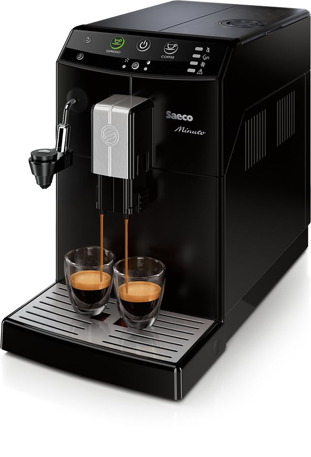 Кофемашина PHILIPS Saeco Minuto HD8665/09,  черный