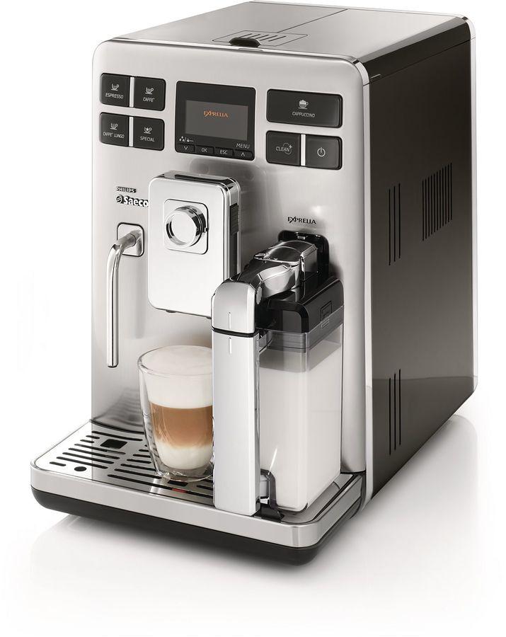 Кофемашина SAECO Exprelia HD8854/09,  черный