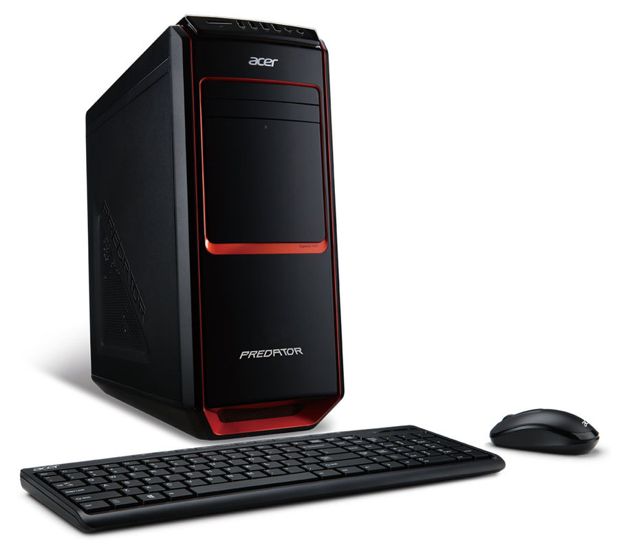 Компьютер  ACER Predator G3-605,  Intel  Core i5  4570,  DDR3 8Гб, 1000Гб,  nVIDIA GeForce GTX 770 - 2048 Мб,  DVD-RW,  CR,  Windows 8,  черный и красный [dt.sqyer.036]