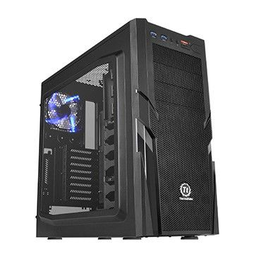 Корпус ATX THERMALTAKE Commander G41 Window CA-1B4-00M1WN-00, Midi-Tower, без БП,  черный