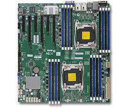 Серверная материнская плата SUPERMICRO MBD-X10DRI-T-O,  Ret