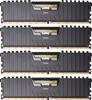 Модуль памяти CORSAIR Vengeance LPX CMK32GX4M4A2666C16 DDR4 -  4x 8Гб 2666, DIMM,  Ret вид 1