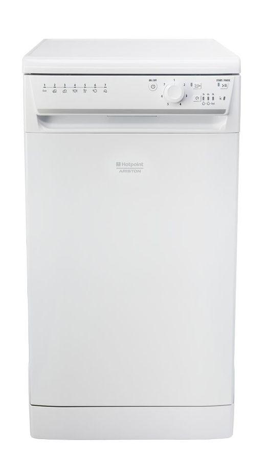 Посудомоечная машина HOTPOINT-ARISTON LSFB 7B019 EU,  узкая, белая