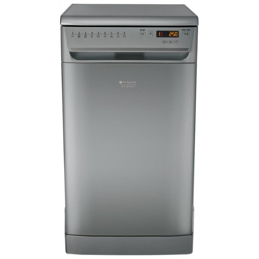 Посудомоечная машина HOTPOINT-ARISTON LSFF 9H124 CX EU,  узкая, нержавеющая сталь