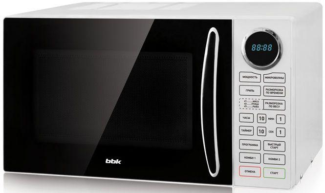 Микроволновая печь BBK 23MWG-930S/BW, белый