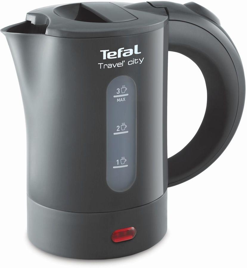 Чайник электрический TEFAL KO120B30, 650Вт, серый