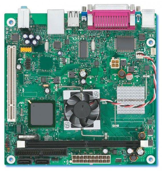 Материнская плата INTEL D945GCLF mini-ITX, OEM