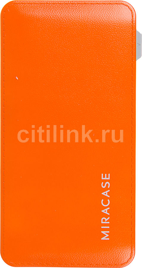 Внешний аккумулятор MIRACASE MACC-829,  6000мAч,  оранжевый