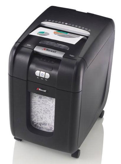 Уничтожитель бумаг REXEL Auto+ 200X,  уровень 3,  P-4,  4х40 мм [2103175eu]