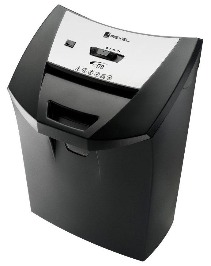 Уничтожитель бумаг REXEL OfficeMaster SC170,  уровень 2,  P-2,  4х45 мм [2101829]