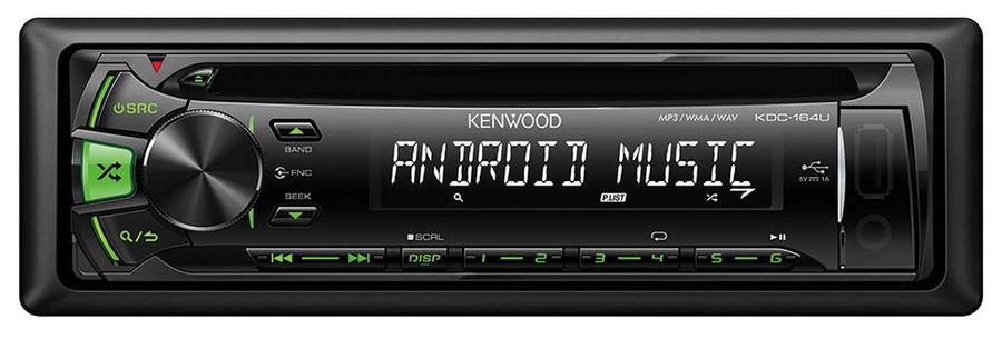 Автомагнитола KENWOOD KDC-164UG,  USB