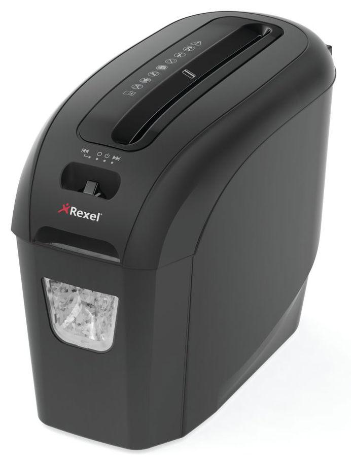 Уничтожитель бумаг REXEL ProStyle+5,  уровень 4,  P-4,  4х40 мм [2104005eu]