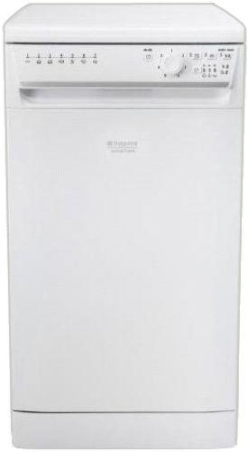 Посудомоечная машина HOTPOINT-ARISTON LSFK 7B09 C RU,  узкая, белая