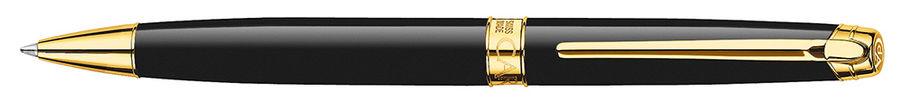Ручка шариковая Carandache Leman (4789.282) black lacquered GP подар.кор.