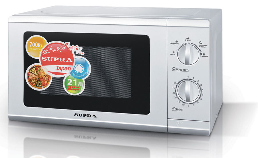 Микроволновая печь SUPRA MWS-2108MW, белый