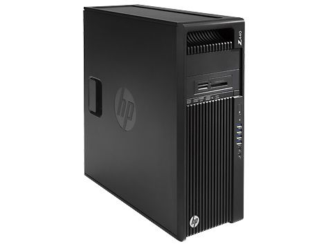 Рабочая станция  HP Z440,  Intel  Xeon  E5-1650 v3,  DDR3 16Гб, 256Гб(SSD),  DVD-RW,  Windows 7 Professional,  черный [g1x59ea]