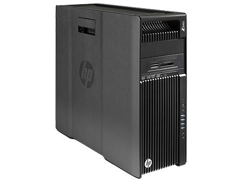 Рабочая станция  HP Z640,  Intel  Xeon  E5-2630 v3,  DDR3 16Гб, 256Гб(SSD),  DVD-RW,  Windows 7 Professional,  черный [g1x61ea]