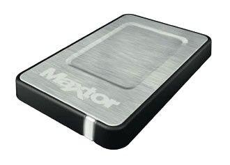 Внешний жесткий диск SEAGATE Maxtor OneTouch 4 Mini STM903203OTD3E1-RK, 320Гб, серебристый