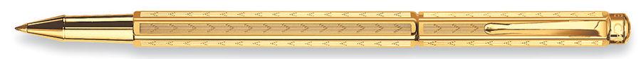 Ручка роллер Carandache Ecridor Chevron gilded (838.208) подар.кор.