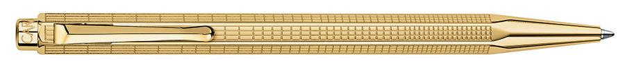 Ручка шариковая Carandache Ecridor Lignes Urbaines gilded (898.368) подар.кор.