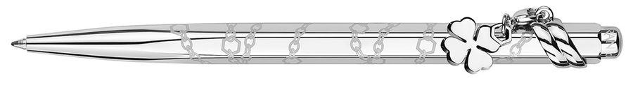 Ручка шариковая Carandache Ecridor Mademoiselle PP (890.103) в компл.:подвеска клевер подар.кор.