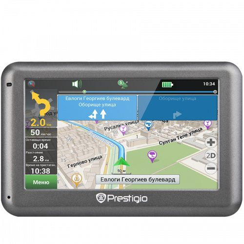 GPS навигатор PRESTIGIO GeoVision 4055,  4.3