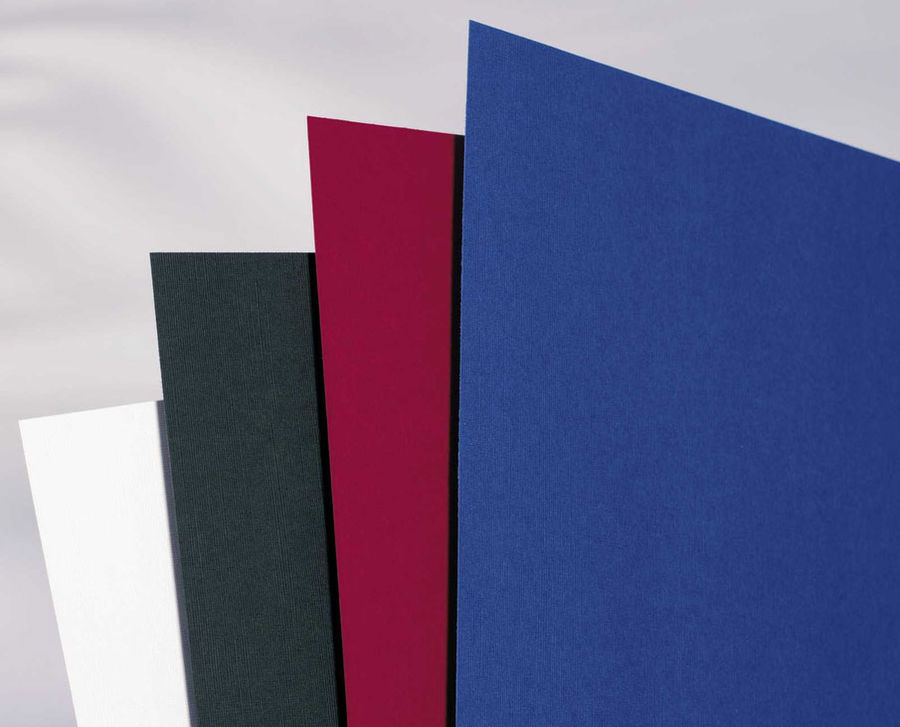 Обложка GBC LinenWeave,  A4,  250г/м2,  100,  синий