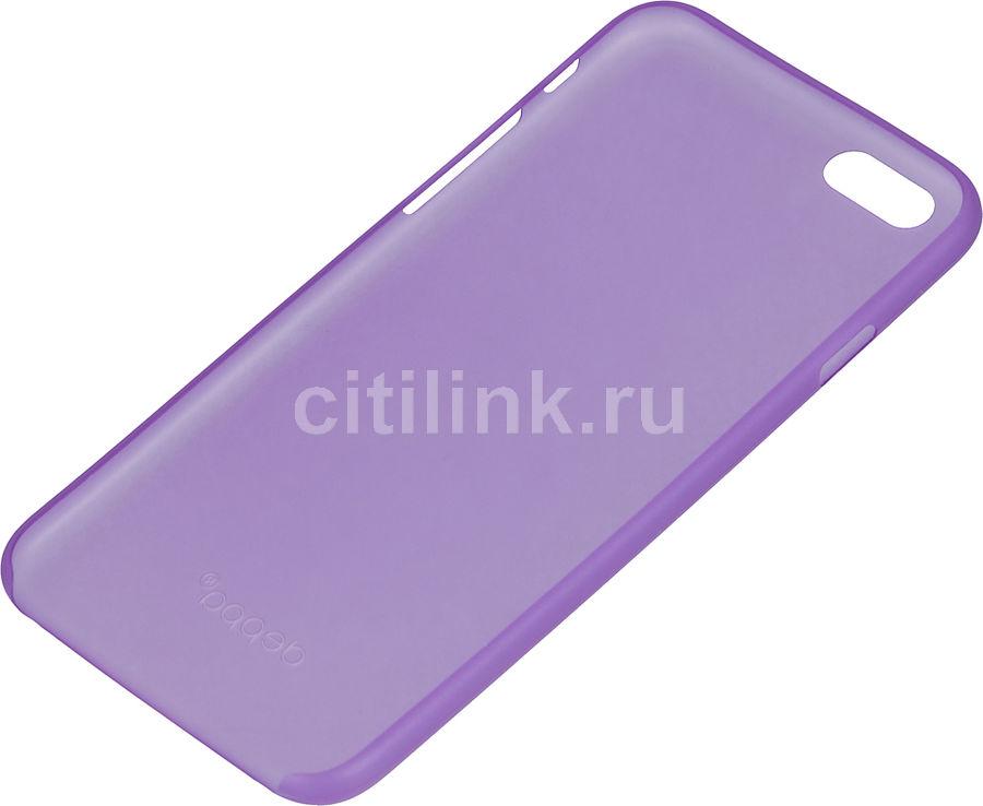 Чехол (клип-кейс) DEPPA Sky Case, для Apple iPhone 6, фиолетовый [86014]