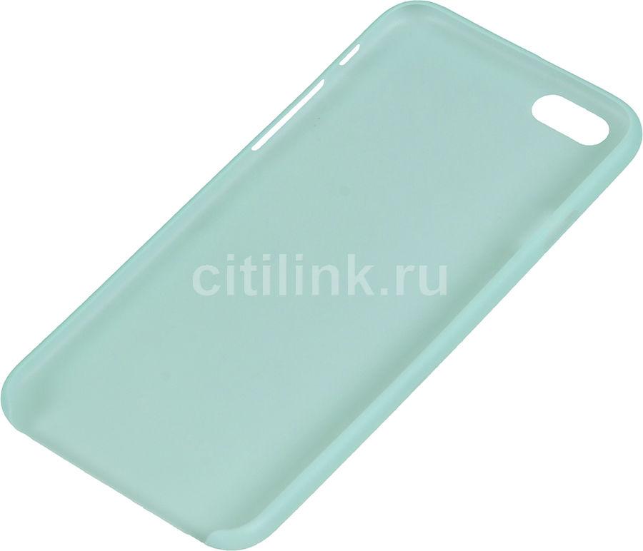 Чехол (клип-кейс) DEPPA Sky Case, для Apple iPhone 6, мятный [86017]