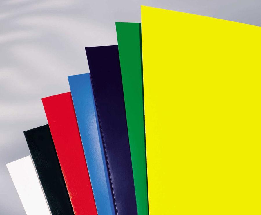 Обложка GBC HiGloss,  A4,  250г/м2,  100,  зеленый