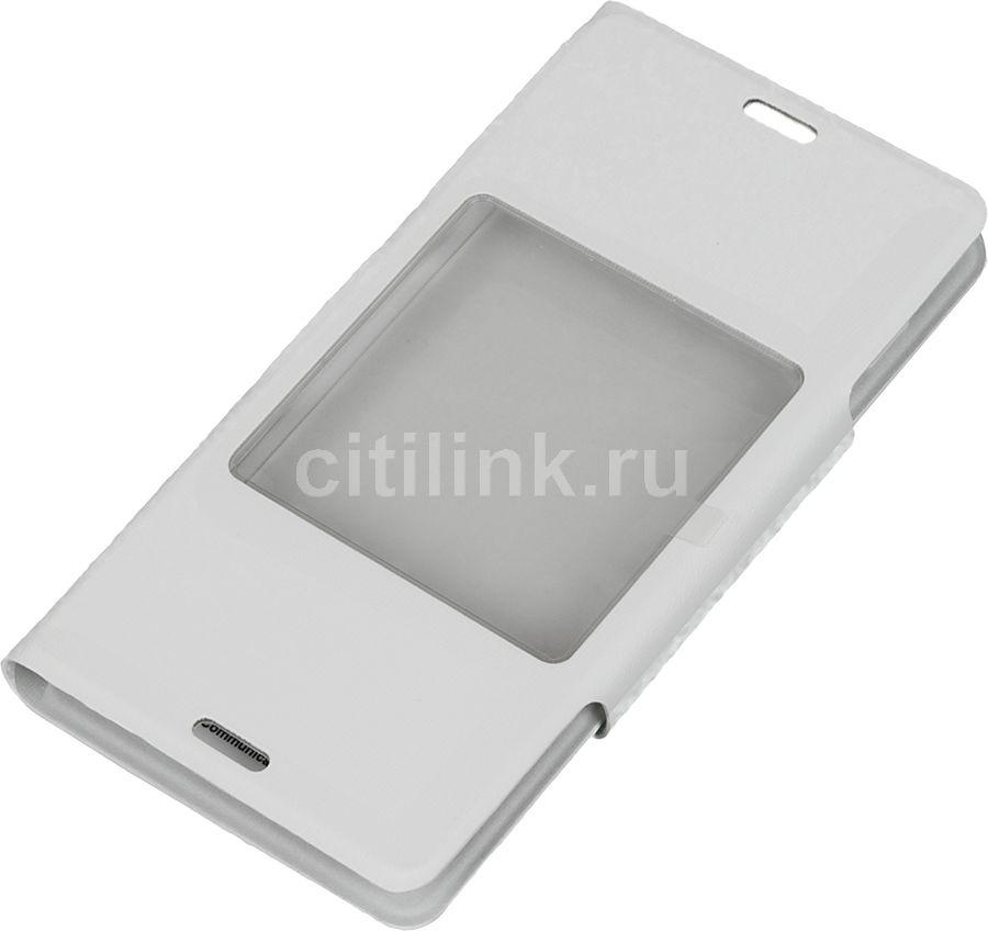 Чехол (флип-кейс) SONY SCR26, для Sony Xperia Z3 compact, белый [scr26 white]