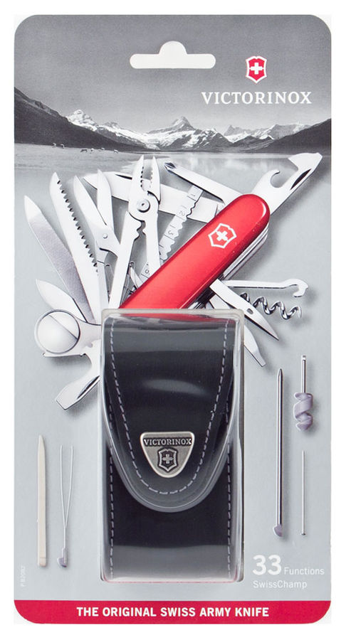 1 6795 Victorinox Swiss Army Pocket Knife Swiss Champ