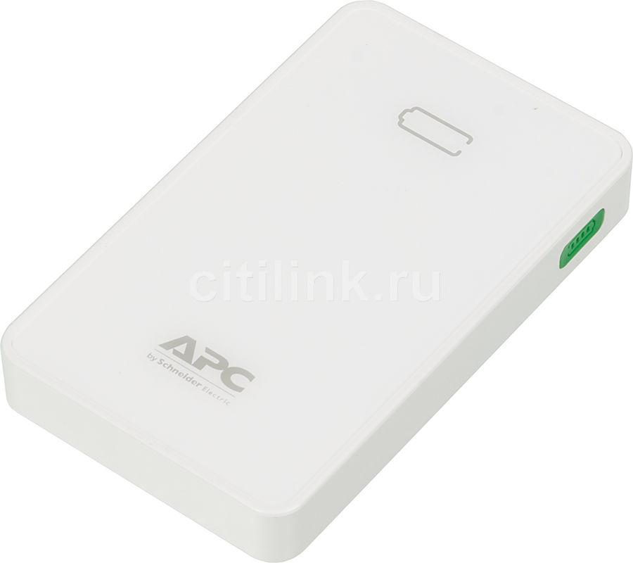 Внешний аккумулятор APC PowerPack M5WH-EC,  5000мAч,  белый