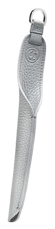 Футляр Carandache Mademoiselle (5701.101) для 1 ручки серебристый натур.кожа