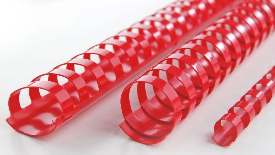 Пружина пластиковая GBC 4028218,  14мм,  125 листов,  A4,  100,  красный
