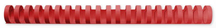 Пружина пластиковая GBC 4028660,  16мм,  145 листов,  A4,  100,  красный