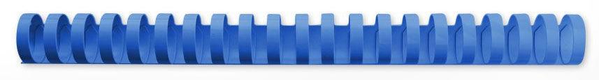 Пружина пластиковая GBC 4028621,  19мм,  165 листов,  A4,  100,  синий