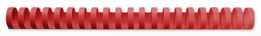 Пружина пластиковая GBC 4028662,  22мм,  195 листов,  A4,  100,  красный