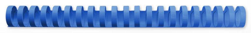 Пружина пластиковая GBC 4028622,  22мм,  195 листов,  A4,  100,  синий