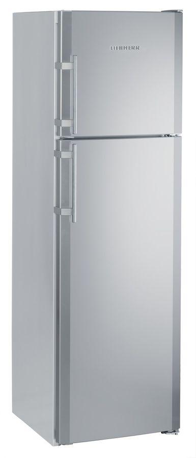 Холодильник LIEBHERR CTNesf 3663,  двухкамерный,  серебристый