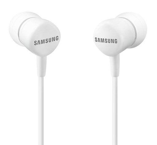 Наушники с микрофоном SAMSUNG EO-HS1303, 3.5 мм, вкладыши, белый [eo-hs1303wegru]