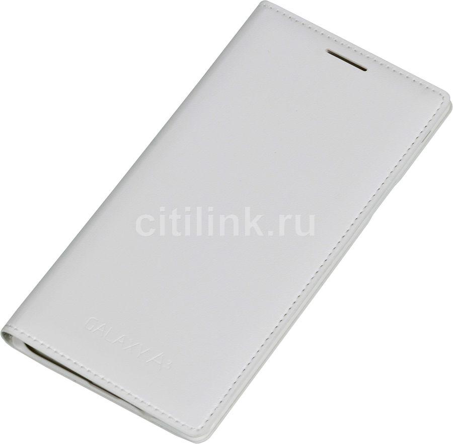 Чехол (флип-кейс) SAMSUNG EF-FA300BWEGRU, для Samsung Galaxy A3, белый