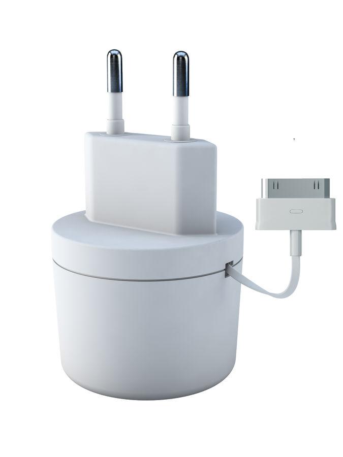 Сетевое зарядное устройство VERTEX TCRSS30PINW,  USB,  30-pin (Apple),  3.1A,  белый