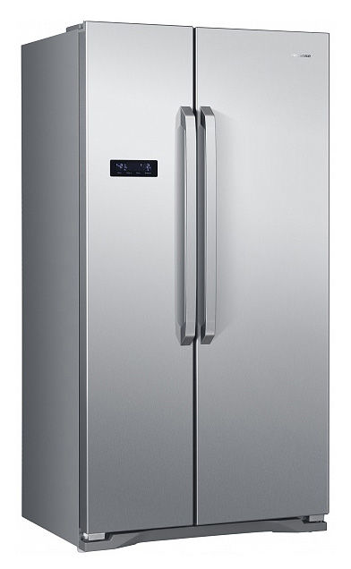 Холодильник HISENSE RС-76WS4SAS,  двухкамерный,  нержавеющая сталь