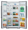 Холодильник HISENSE RС-76WS4SAS,  двухкамерный,  нержавеющая сталь вид 4